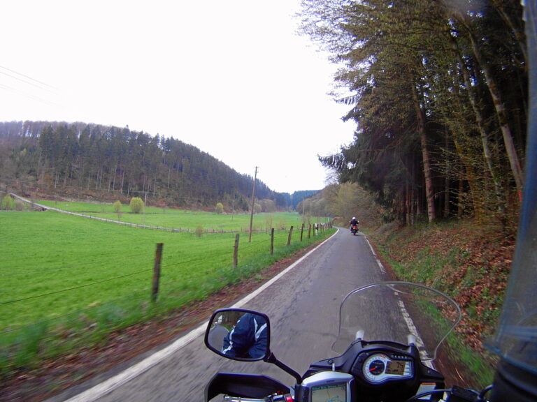 unterwegs ins Siegerland