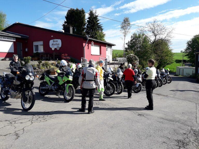 Mai 2017 Motorradtraining im Bergischen