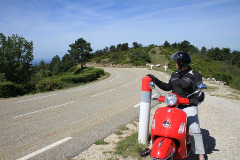 Mont Ventoux von Malaucene kommend