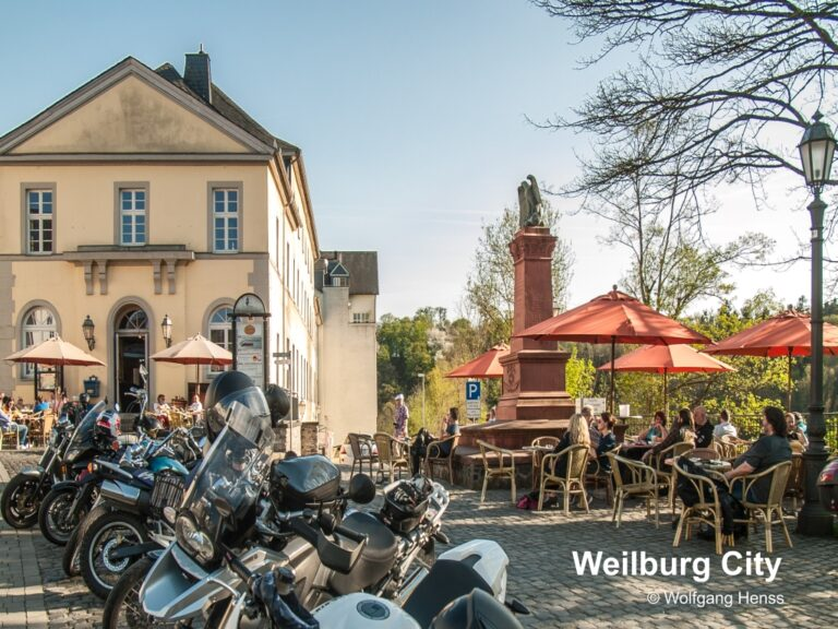 Weilburg place for bikes